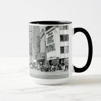 Chicago Illinois 1960's Oriental Theater Street Mug