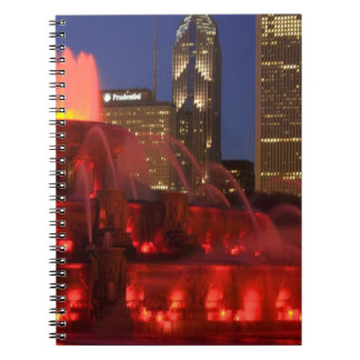 Chicago, Illinois, Buckingham Fountain Notebook