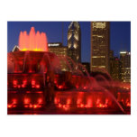 Chicago, Illinois, Buckingham Fountain Postcard
