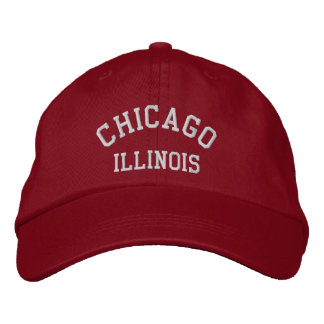 CHICAGO, ILLINOIS EMBROIDERED HAT