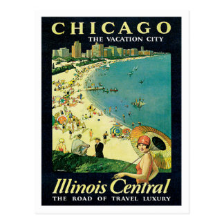 Chicago Illinois IL US Vintage Postcard