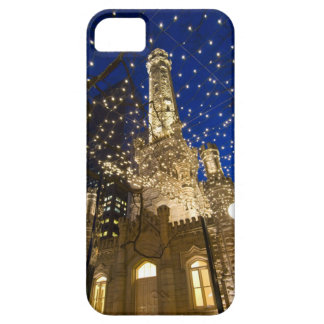Chicago, Illinois, Old Water Tower with holiday iPhone 5 Case