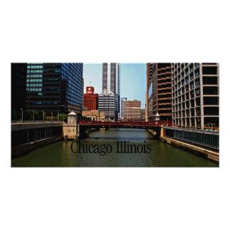 Chicago Illinois Personalized Photo Card