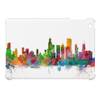 Chicago Illinois Skyline Cover For The iPad Mini
