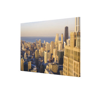 Chicago, Illinois, Skyline from the Sears Tower Canvas Print