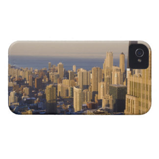 Chicago, Illinois, Skyline from the Sears Tower iPhone 4 Covers