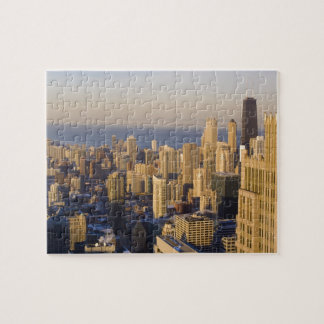 Chicago, Illinois, Skyline from the Sears Tower Jigsaw Puzzles