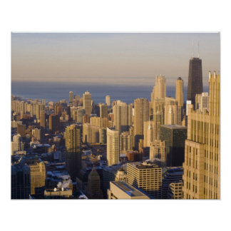Chicago, Illinois, Skyline from the Sears Tower Poster