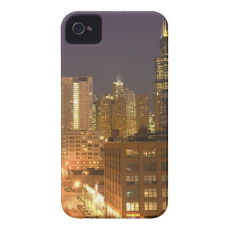 Chicago, Illinois, Skyline from West Loop at iPhone 4 Cover