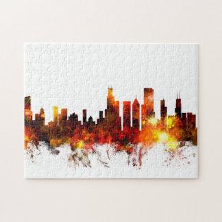 Chicago Illinois Skyline Puzzles