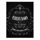 Chicago Illinois - The Wind City Postcard