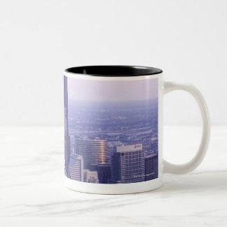 Chicago, Illinois, USA 2 Two-Tone Coffee Mug