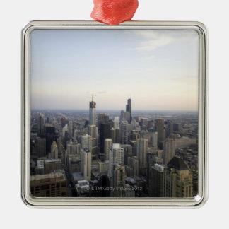 Chicago, Illinois, USA 3 Christmas Ornament