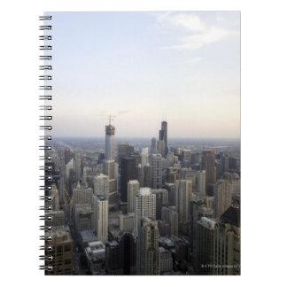 Chicago, Illinois, USA 3 Spiral Notebook