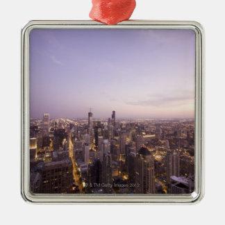 Chicago, Illinois, USA 5 Christmas Ornament