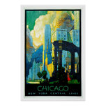 Chicago Illinois Vintage Travel