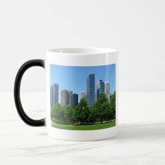 Chicago Illinois Windy City Park Buildings Destiny Coffee Mug