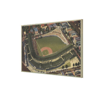Chicago, Illinois - Wrigley Field Cubs Canvas Print