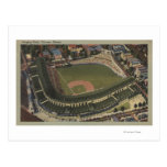 Chicago, Illinois - Wrigley Field Cubs Postcard