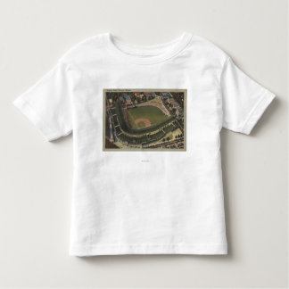 Chicago, Illinois - Wrigley Field Cubs Toddler T-Shirt