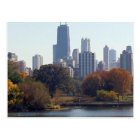 Chicago In The Fall Postcard