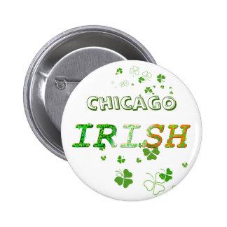 Chicago Irish Pinback Button