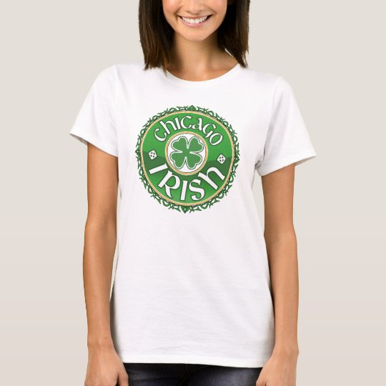 Chicago Irish Shamrock T-Shirt