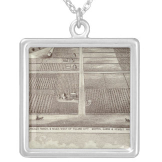 Chicago, Kay ranches Silver Plated Necklace