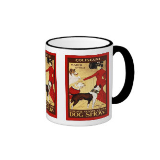 Chicago Kennel Club ~ Vintage Dog Show Mugs