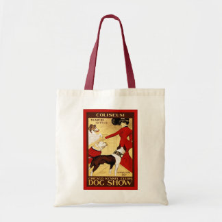 Chicago Kennel Club ~ Vintage Dog Show Tote Bag