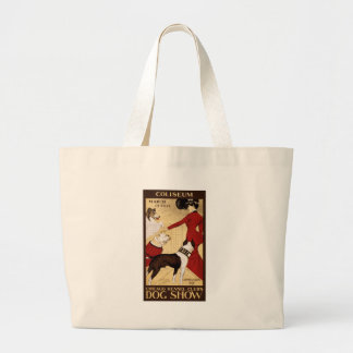 Chicago Kennel Club's Dog Show, Advertising Poster Canvas Bags