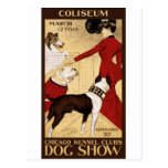 Chicago Kennel Club's Dog Show, Advertising Poster Postcards