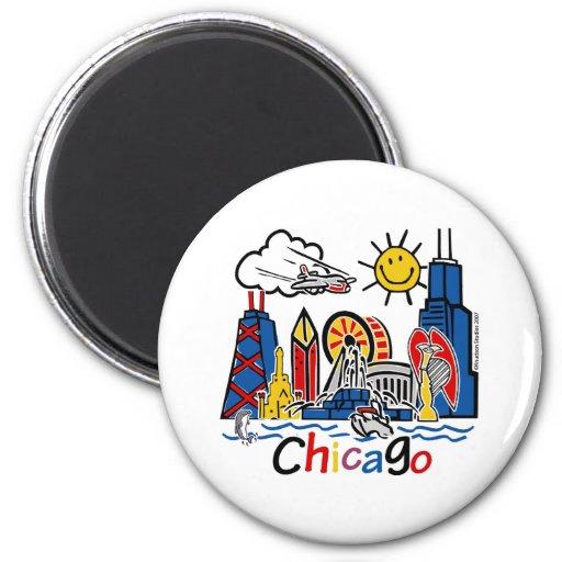 Chicago-KIDS-[Converted] Refrigerator Magnet