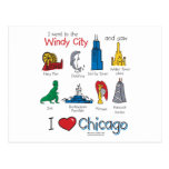 Chicago--kids-Icons-NEW-[Co Post Card