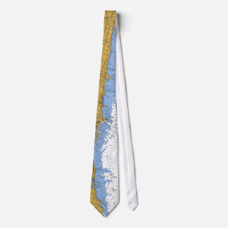 Chicago Lake Shore Navigation Chart Tie