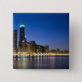 Chicago Lakefront 15 Cm Square Badge