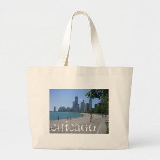 Chicago Lakeshore Canvas Bags