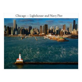 Chicago Lighthouse Postcard