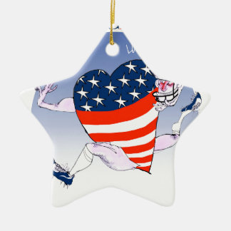 Chicago Loud and Proud, tony fernandes Ceramic Star Decoration