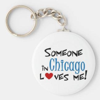 Chicago Love Key Ring