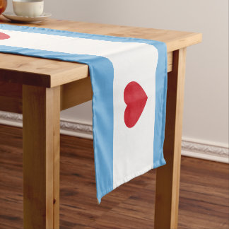 Chicago Love Short Table Runner
