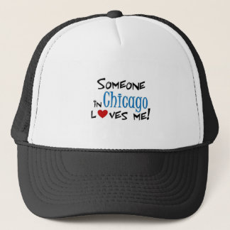 Chicago Love Trucker Hat