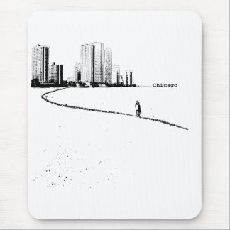 Chicago Lovers VIntage Mouse Pad