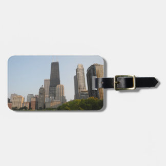 Chicago luggage tag