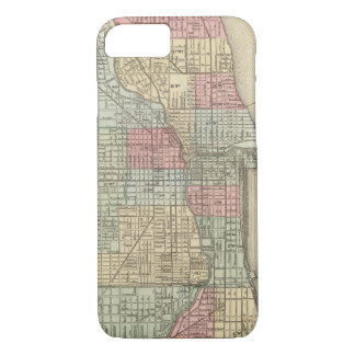 Chicago Map by Mitchell iPhone 8/7 Case