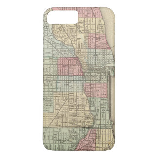 Chicago Map by Mitchell iPhone 8 Plus/7 Plus Case