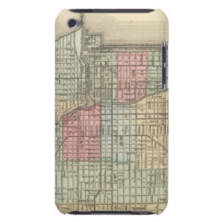 Chicago Map by Mitchell iPod Touch Cover