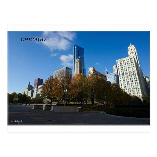 Chicago - Millennium Park Postcard