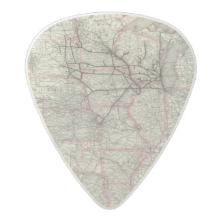 Chicago Milwaukee and St Paul Ry and connections Acetal Guitar Pick