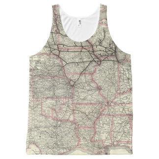Chicago Milwaukee and St Paul Ry and connections All-Over Print Tank Top